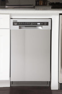 "Kucht 18"" Professional Dishwasher in Stainless Steel with Stainless Steel Tub, K7740D"