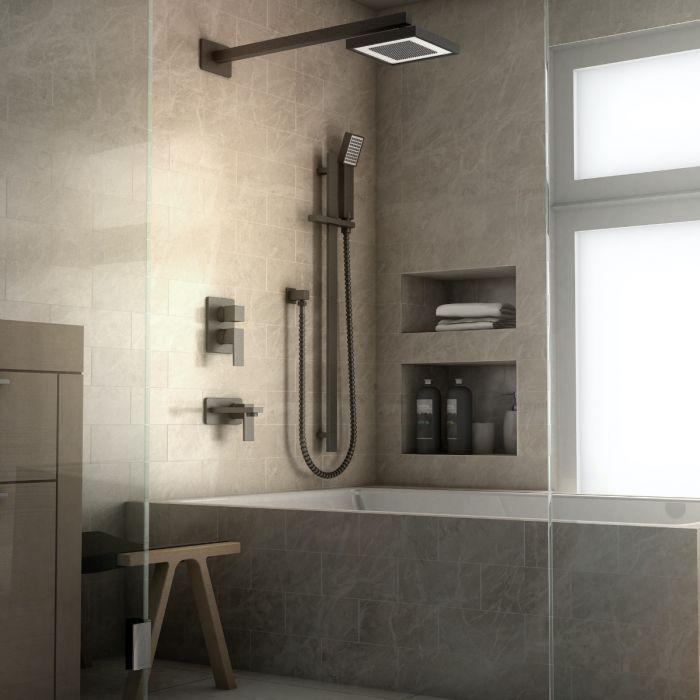 ZLINE Bliss Shower System in Electric Matte Black, BLS-SHS-MB