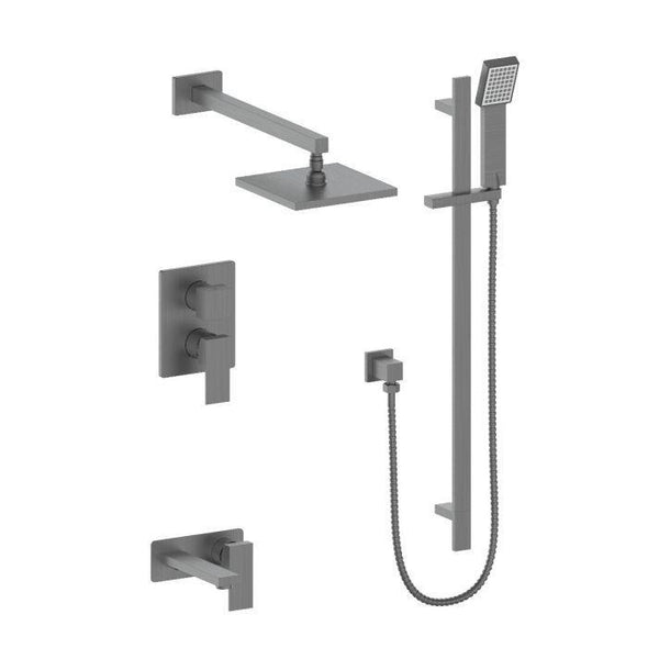 ZLINE Bliss Shower System in Black Stainless Steel, 51-0069-GM