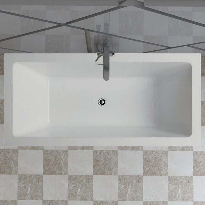 "Vanity Art 59"" x 30"" Freestanding Soaking Bathtub, VA6814"