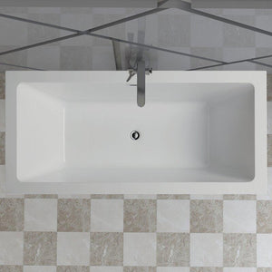 "Vanity Art 67"" Freestanding Soaking Bathtub, VA6814-L test"