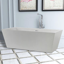 "Vanity Art 67"" Freestanding Soaking Bathtub, VA6814-L"