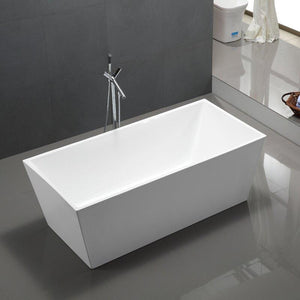 "Vanity Art 67"" x 31"" Freestanding Soaking Bathtub, VA6813-L test"
