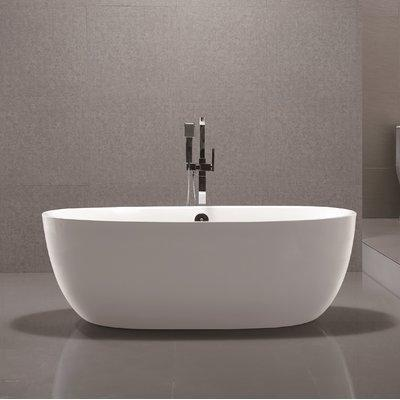 "Vanity Art 67"" x 31"" Freestanding Soaking Bathtub, VA6833"