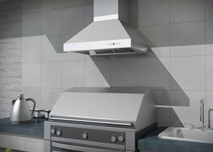 "ZLINE 36"" Outdoor Stainless Steel Wall Range Hood, 667-304-36 test"