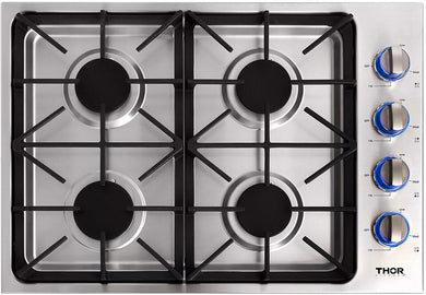 Thor 30 in. Drop-in Propane Gas Cooktop in Stainless Steel, TGC3001LP