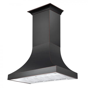 "ZLINE 42"" Designer Series Oil-Rubbed Bronze Wall Range Hood, 8632B-42 test"