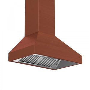 "ZLINE 36"" Copper Wall Range Hood 8597C-36, Crown Molding test"