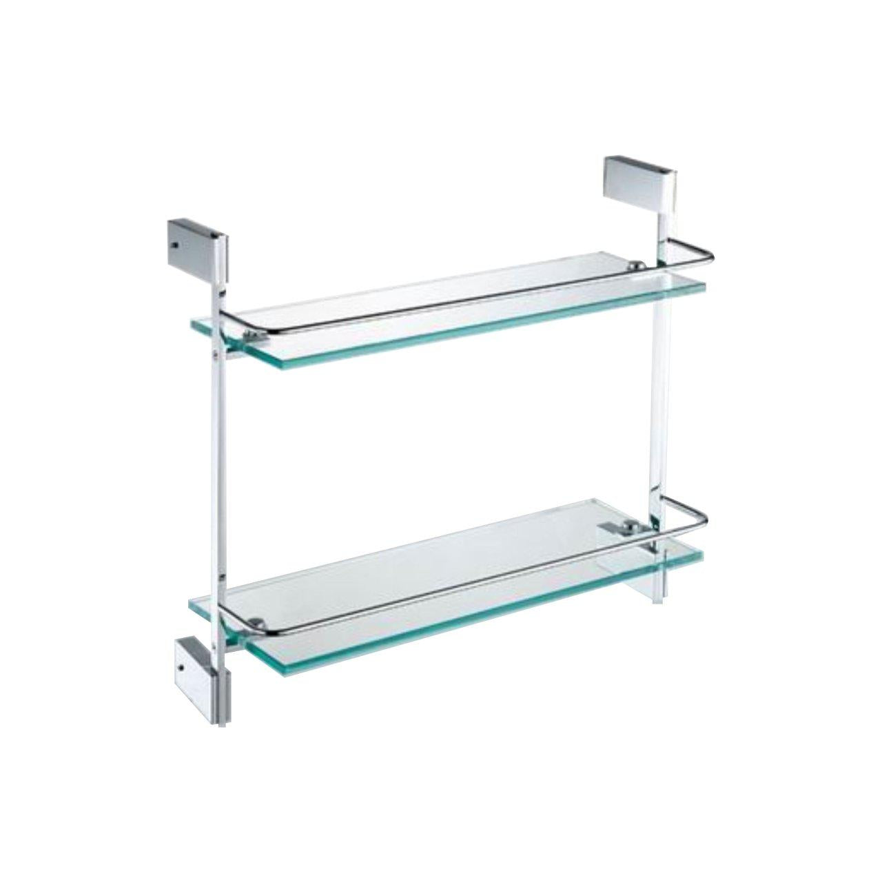 Kubebath Aqua Fino By Kubebath Double Glass Shelve 94012