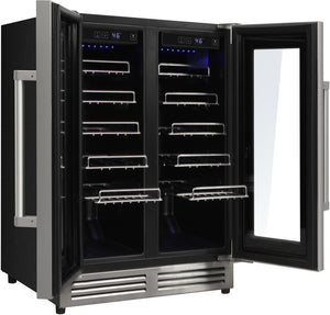 Thor Kitchen 42 Bottle Dual Zone Built-in Wine Cooler, TWC2402 test