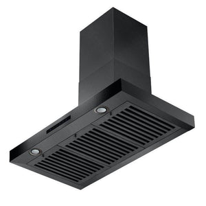 "ZLINE 30"" Convertible Vent Wall Mount Range Hood in Black Stainless Steel, BSKEN-30 test"