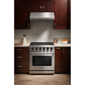 Thor Kitchen 30 in. 4.55 cu. ft. Professional Propane Gas Range in Stainless Steel, LRG3001ULP