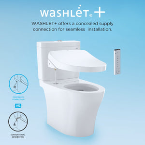 Toto Carolina II 1.28 GPF Elongated One Piece Toilet, MW6442034CEFG#01 test