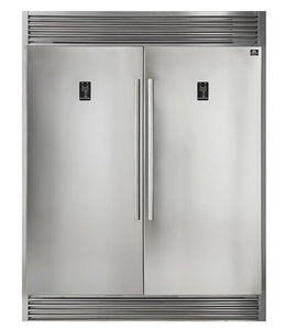 "Forno 60"" 27.6 cu. ft. Refrigerator & Freezer in Stainless Steel, FFFFD1933-60S test"
