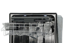 "Thor Kitchen Professional 24"" Black Stainless Steel Fully Integrated Dishwasher, HDW2401BS"