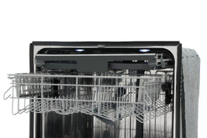 "Thor Kitchen Professional 24"" Black Stainless Steel Fully Integrated Dishwasher, HDW2401BS test"