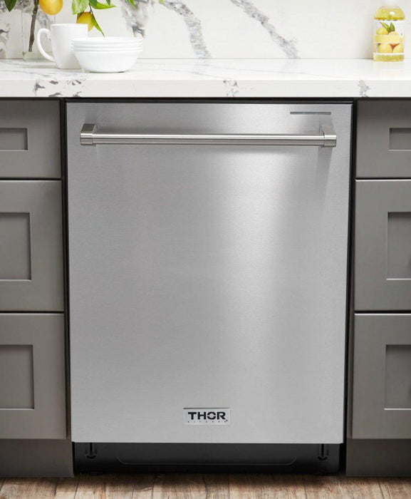 "Thor Kitchen 24"" Stainless Steel Fully Integrated Dishwasher - Energy Star, HDW2401SS"