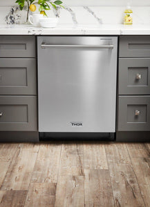 "Thor Kitchen 24"" Stainless Steel Fully Integrated Dishwasher - Energy Star, HDW2401SS test"