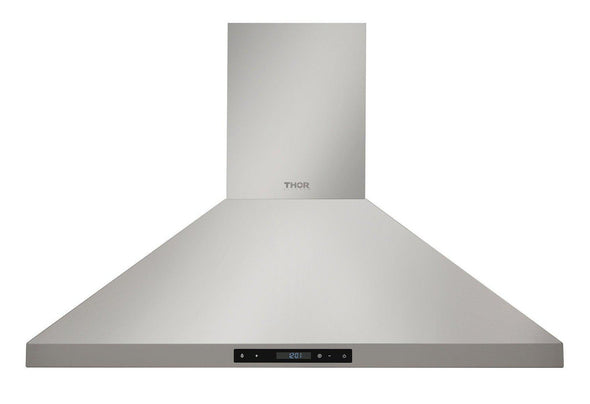 Thor Kitchen 36 in. Wall Mount LED Light Range Hood in Stainless Steel, HRH3607