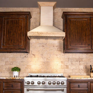 ZLINE 30 in. Unfinished Wooden Wall Mount Range Hood, KBUFC-30 test