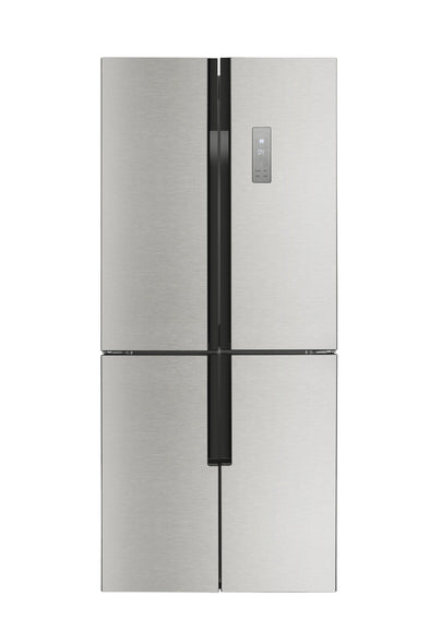 Lycan 31 in. 14.9 cu. ft. Freestanding 4-Door French Door Refrigerator in Stainless Steel, LRF3001SS