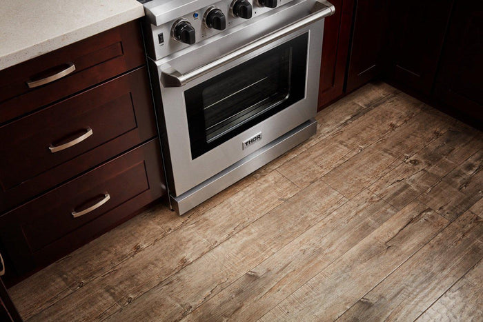 Thor Kitchen 36 in. 6.0 Cu. Ft Single Oven Professional Natural Gas Range in Stainless Steel, LRG3601U