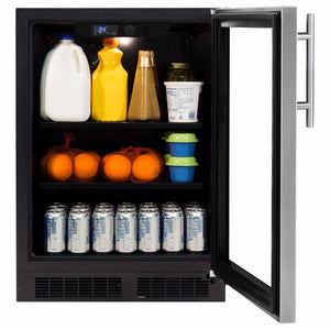 "Northland 24"" Northland 190-Can Capacity (5.3-cu ft) Stainless Steel Beverage Center, NL24BCG0RS test"
