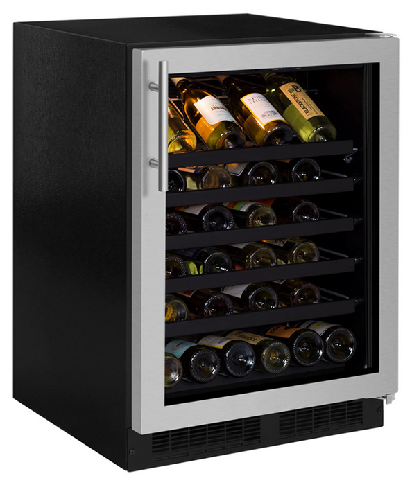 "Northland 24"" 45 Bottle Stainless Steel Wine Chiller, NL24WSG0RS"