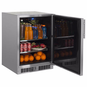 Northland Outdoor 5.3-cu ft Built-In/Freestanding Mini Fridge, NO24RAS0RS test