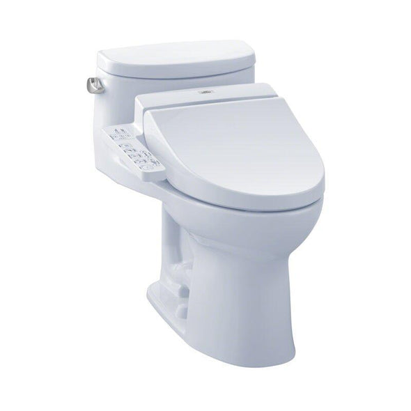 Toto Supreme 1.28 GPF Elongated Bidet Toilet, MW6342034CEFG#01