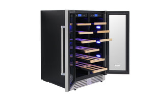 "Thor Kitchen 24"" 21 Bottle & 95-Can Wine Cooler, TBC2401DI test"