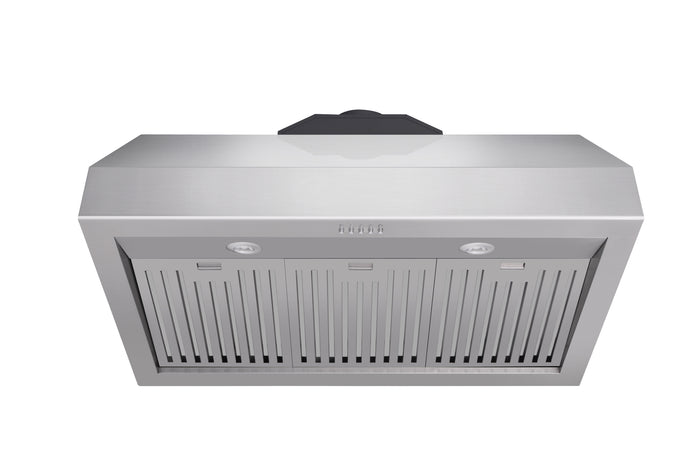 Thor Kitchen 36 in. 1,000 CFM Under Cabinet LED Range Hood in Stainless Steel, TRH3605