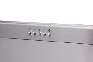 Thor Kitchen 36 in. 1,000 CFM Under Cabinet LED Range Hood in Stainless Steel, TRH3605 test