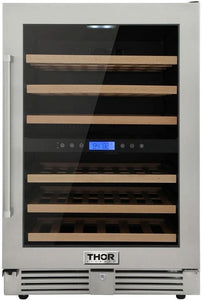 "Thor Kitchen 24"" 46 Bottle Wine Cooler, TWC2401DO"