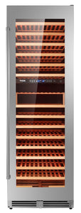 "Thor Kitchen 24"" 162 Bottle Dual Zone Freestanding Wine Cooler, TWC2403DI"