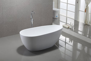 "VA6515 59"" x 30"" Freestanding Soaking Bathtub test"