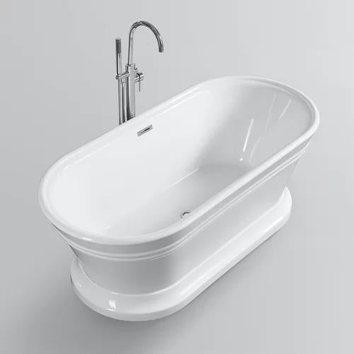 "VA6610-L 67"" x 31"" Freestanding Soaking Bathtub"