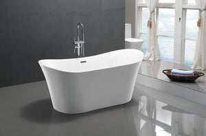 "VA6805 67"" x 29"" Freestanding Soaking Bathtub"