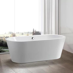 "VA6812-S 59"" x 29.5"" Freestanding Soaking Bathtub"