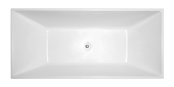"VA6813-L 67"" x 31"" Freestanding Soaking Bathtub"