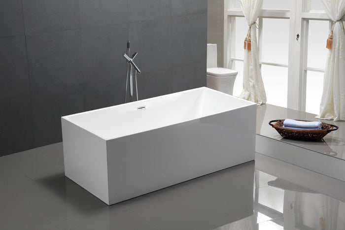 "VA6813B-L 66.5"" x 31.5"" Freestanding Soaking Bathtub"