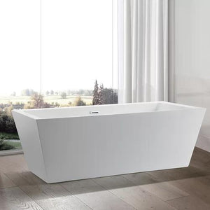 "VA6814-L 67"" x 31.5"" Freestanding Soaking Bathtub"