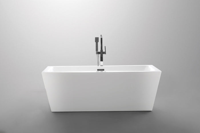 "VA6814 59"" x 30"" Freestanding Soaking Bathtub"