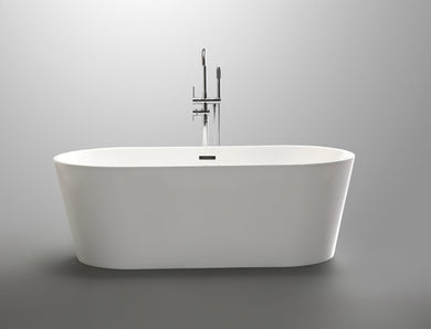 "VA6815 59"" x 29.5"" Freestanding Soaking Bathtub"