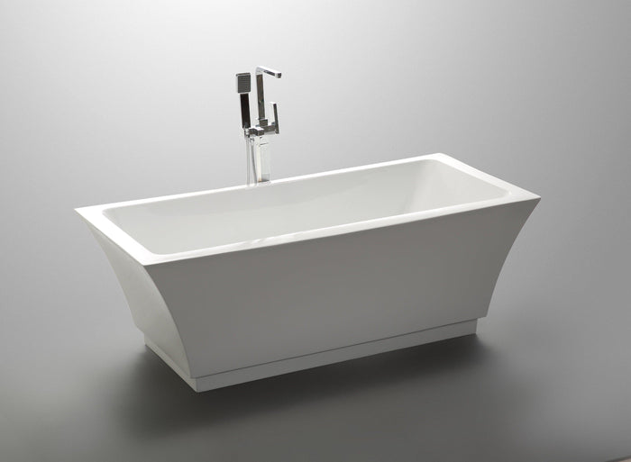 "VA6817 59"" x 29.5"" Freestanding Soaking Bathtub"
