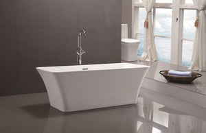 "VA6820 67"" x 29.5"" Freestanding Soaking Bathtub"