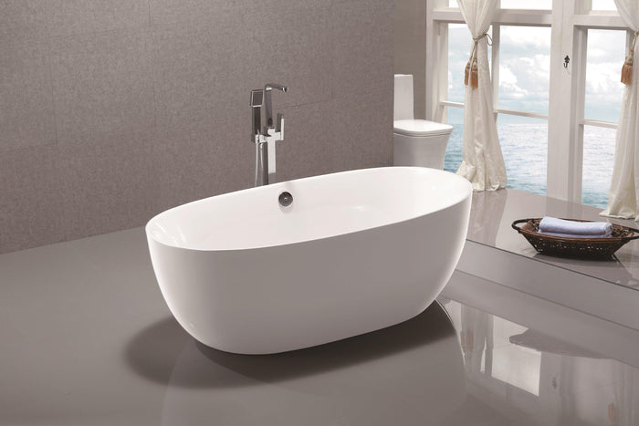 "VA6833 67"" x 31"" Freestanding Soaking Bathtub"