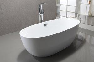 "VA6833 67"" x 31"" Freestanding Soaking Bathtub test"