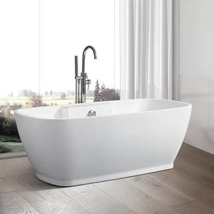 "VA6835-L 67"" x 31"" Freestanding Soaking Bathtub"