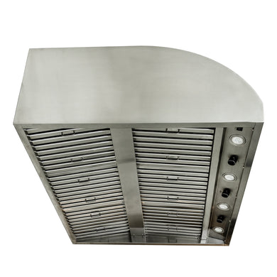 "Blaze 42"" Stainless Steel Outdoor Vent Hood with 2,000 CFM, BLZ-42-VHOOD"